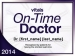 On-Time Physician Award Oct 28, 2014